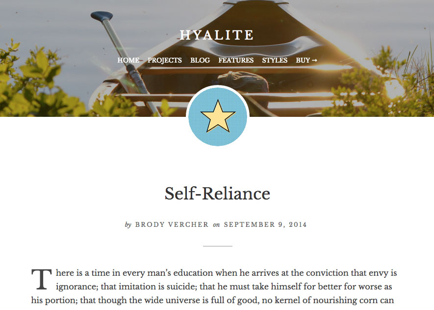 hyalite-feature-custom-header-image